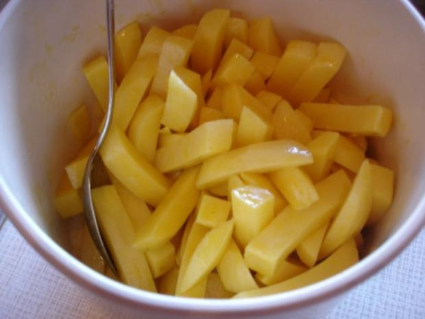"""Kibbelinge """"asiatisch"""" mit Remoulade und Pommes frites - Rezept - Bild Nr. 15"""