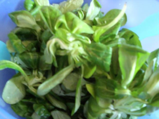 Feldsalat mit Lachs-Ei-Topping - Rezept - Bild Nr. 6