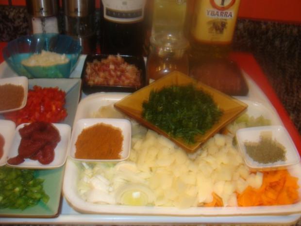 Suppen : Ungar. Paprika - Linsensuppe - Rezept - Bild Nr. 3