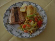 Lauch-Paprika-Mais-Gemüse - Rezept