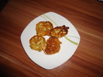Zucchini - Plinsen - Rezept