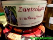M+G:   ZWETSCHGEN - FRUCHTAUFSTRICH - Rezept