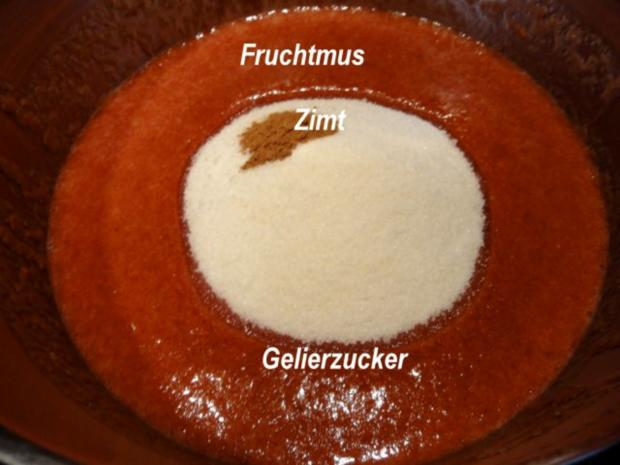 M+G:   ZWETSCHGEN - FRUCHTAUFSTRICH - Rezept - Bild Nr. 4