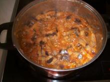 Orientalische Auberginensoße - Rezept