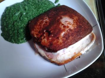 Fleischkäse-Sandwich - Rezept