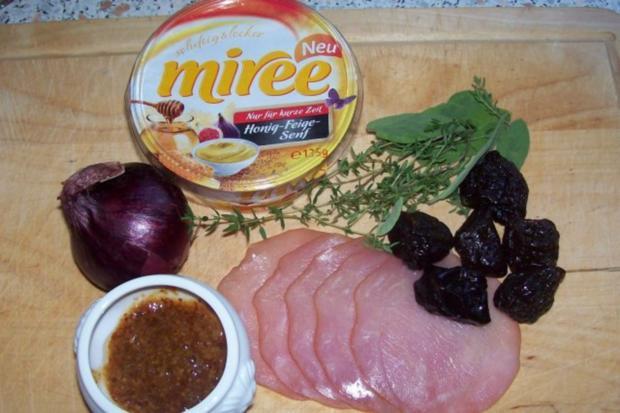 Snack/Vorspeise: Herzhaft-süße Blätterteigtaschen mit Pflaumen-Schinken-Füllung - Rezept - Bild Nr. 2