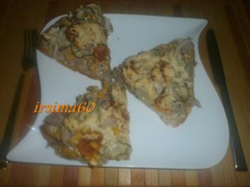 Fladenbrot - Pizza - Rezept