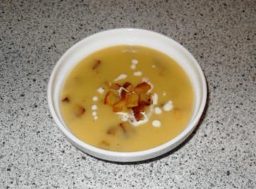 Kartoffelcremesuppe - Rezept