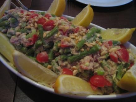 Kalter Spaghetti-Salat mit Thunfisch - Rezept