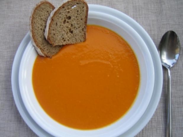 Kürbissuppe a la Dorra - Rezept