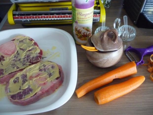 Rind : Beinscheibe mal anders...mal aus der Röhre...mit Gemüse - Rezept - Bild Nr. 6