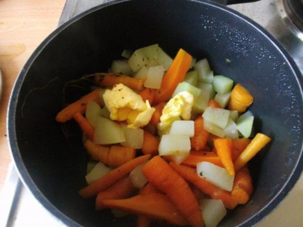 Möhren-Kohlrabi Gemüse - Rezept - Bild Nr. 4