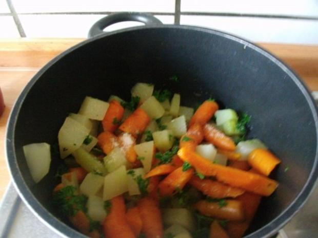 Möhren-Kohlrabi Gemüse - Rezept - Bild Nr. 5