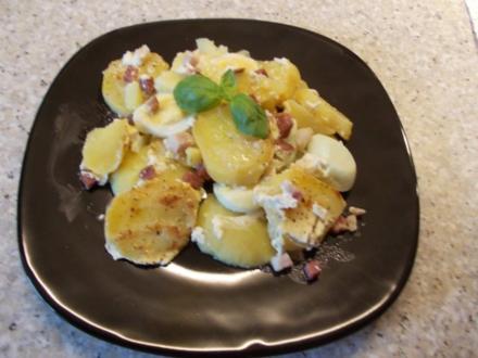 Kartoffel-Eier-Speck-Auflauf - Rezept