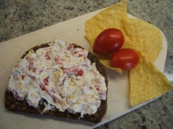 Rezept: Frischkäse: Tomaten und Taccos