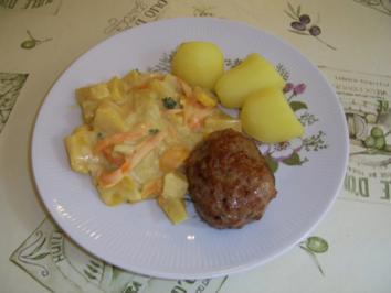 Pattison-Karottengemüse - Rezept