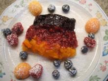 Dessert: Schwarz-Rot-Gold - Rezept