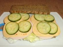 Pausenbrot: Wurst + Käse - Rezept