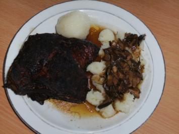 Fleisch: Rinderbauch / Schemmrippe, geschmort - Rezept