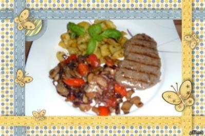Fleisch : Rumpsteak - Rezept