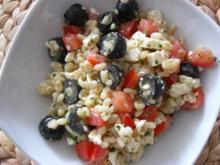 Ebly Salat mit Feta und Tomaten... - Rezept