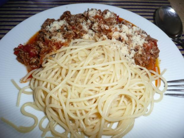 Spaghetti & Bolognese & Salat - Rezept - Bild Nr. 11