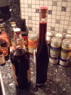 Holunderbeer-Likör - Rezept