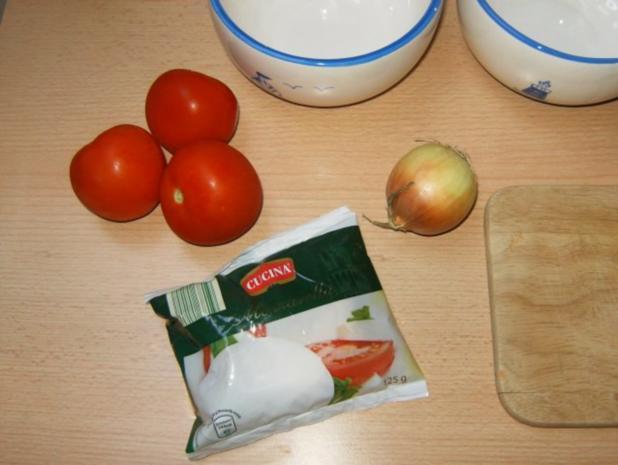 Tomaten-Mozarella-Salat mit Balsamico-Vinaigrette - Rezept - Bild Nr. 2
