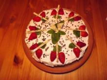 Erdbeer-Vanillecreme-Torte - Rezept