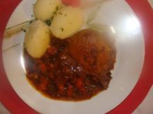 Fleisch : Schweinekottelet im Ofen geschmort- - Rezept