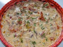 Beilagen: Würzige-Champignon-Zwiebel-Pfanne - Rezept