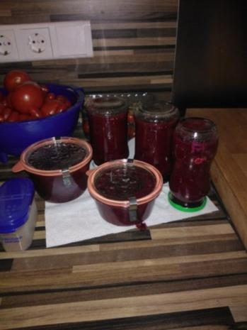 Pflaumen - Birne mit Lebkuchengewürz - Rezept