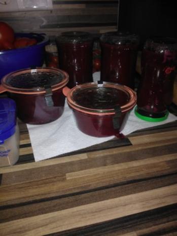 Pflaumen - Birne mit Lebkuchengewürz - Rezept - Bild Nr. 2