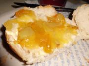 Aufstrich, süß: Mirabellen-Konfitüre mit Weintrauben und Zitrone - Rezept