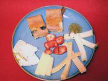 Käsevariation und Far Breton - Rezept