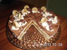 Milka-Herzen-Torte - Rezept
