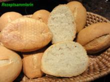 Brot:   SONNTAGS-BRÖTCHEN - Rezept