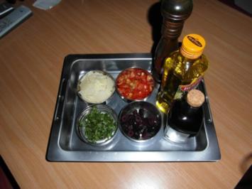 Marinierter Parmesan - Rezept