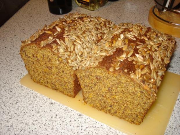 Abendbrot (kohlenhydratreduziertes Brot) - Rezept - Bild Nr. 2