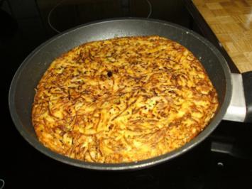 Zucchini-Möhren-Kartoffelpuffer XL - Rezept