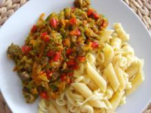Zucchini-Hackfleisch Pfanne - Rezept