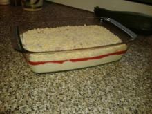 Spaghetti- Eis- Pudding - Rezept