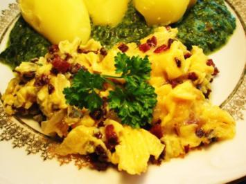 Eier mit Cabanossi ... - Rezept