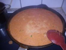 Champignons in Tomaten- Rahmsauce - Rezept