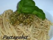Walnuss Pesto zu Spaghetti - Rezept