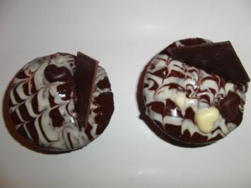 Gefüllter Muffin a la Sacher - Rezept