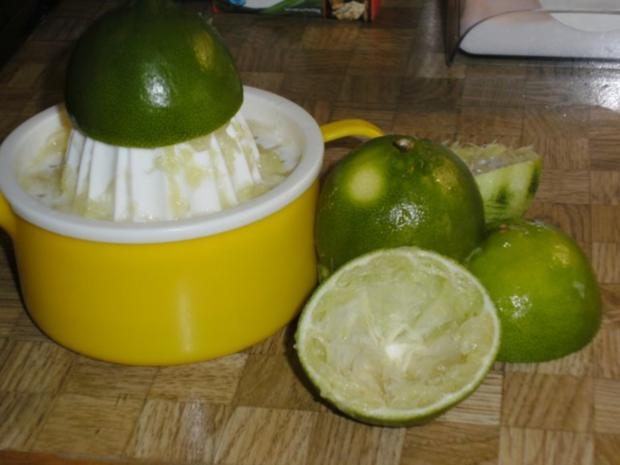 Limetten-Kokosmousse mit beschwipstem Pfirsichkompott - Rezept - Bild Nr. 4