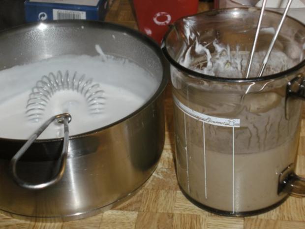 Limetten-Kokosmousse mit beschwipstem Pfirsichkompott - Rezept - Bild Nr. 6