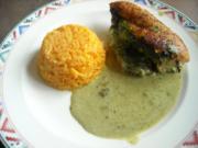 Kräuter-Hähnchenbrust in Minz-Sauce - Rezept