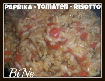 BiNe` S PAPRIKA - TOMATEN - RISOTTO - Rezept